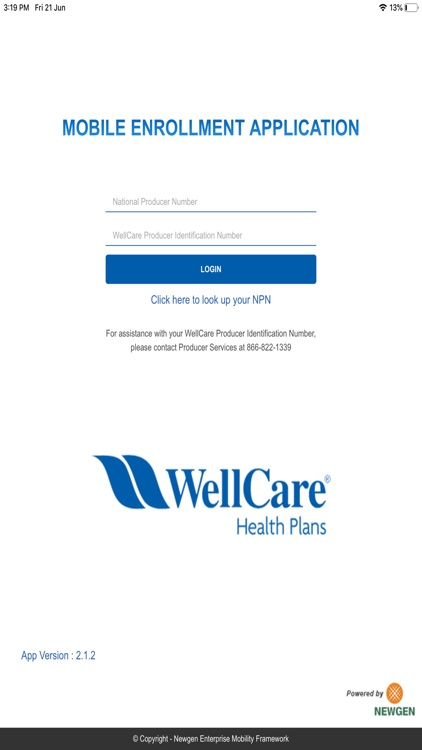 WellCare Enrollment Platform screenshot-0