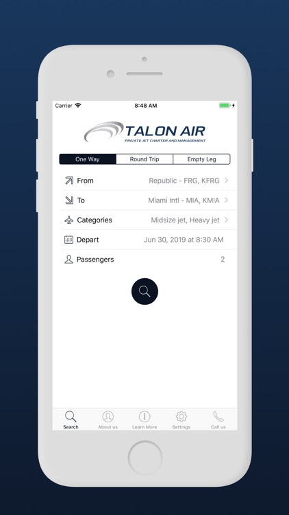 Talon Air Private jet screenshot-3