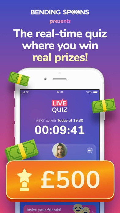 Live Quiz - Win Real Prizes for Windows