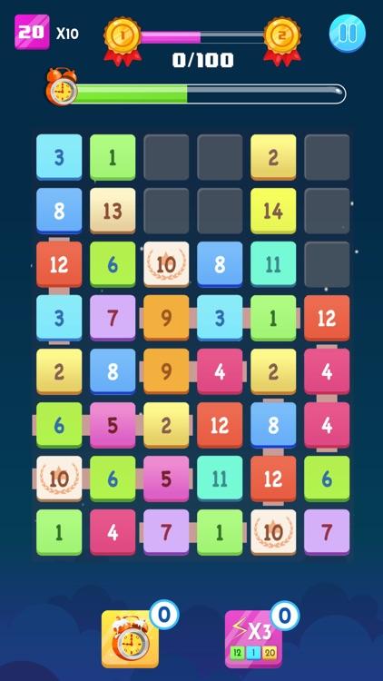 Number Blocks - Merge Puzzle screenshot-3