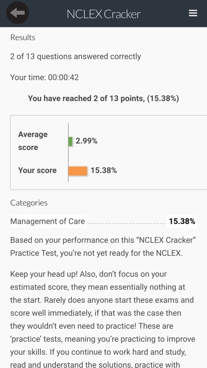 NCLEX RN Test Exam Prep screenshot-3