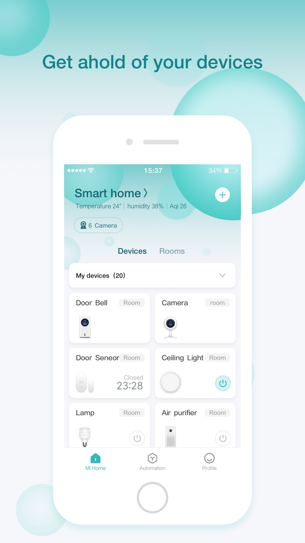 Mi Home - xiaomi smarthome Screenshot