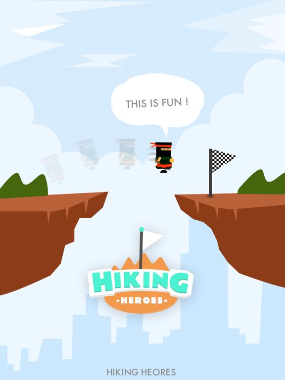 Ipad Screen Shot Hiking Heroes ! 7