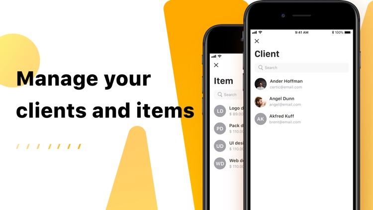 Invoice Now: PDF Invoice Maker screenshot-6