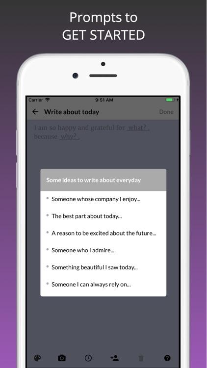 Gratitude Happiness Journal screenshot-5
