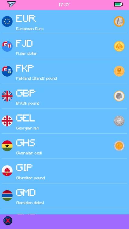 Pixel Currency - Converter screenshot-7
