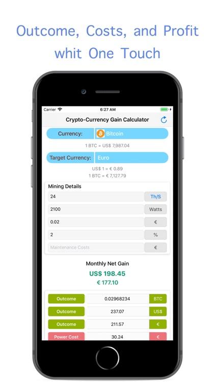 Mining Profit Calculator screenshot-4