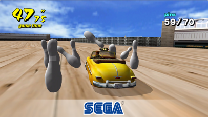 Screenshot from Crazy Taxi Classic