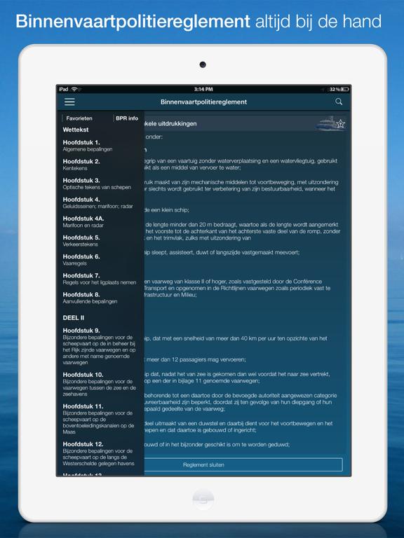 Waterkaart Live iPad app afbeelding 4