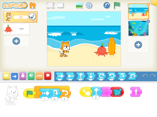 ‎ScratchJr Screenshot