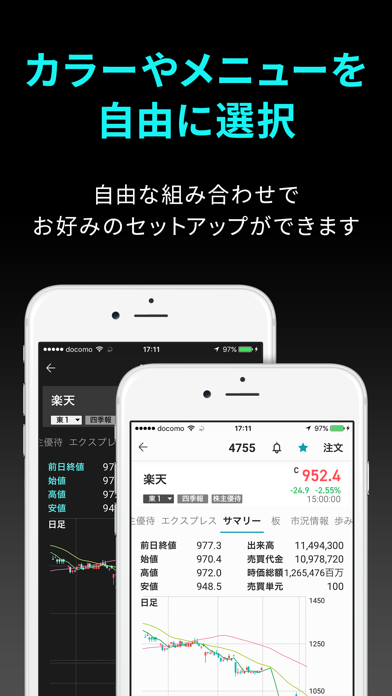 iSPEED - 楽天証券の株アプリ ScreenShot8