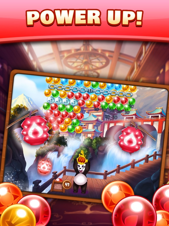 Panda Pop! Bubble Shooter Game-ipad-1