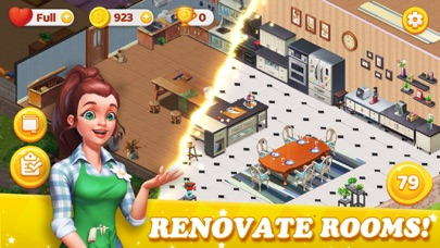 Dream Home Match 3 Puzzles Gam screenshot 1