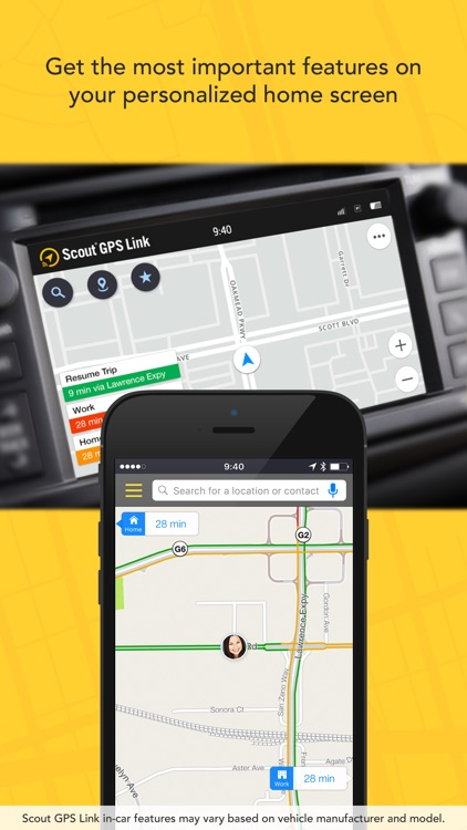 Scout GPS Link