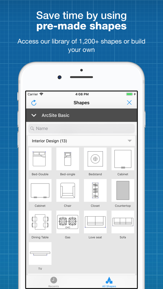 CAD Drawing & Drafting:ArcSite App for iPhone - Free Download CAD