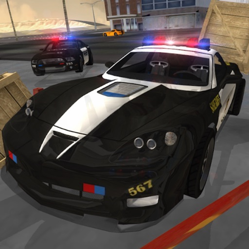 Police Car: City Sim