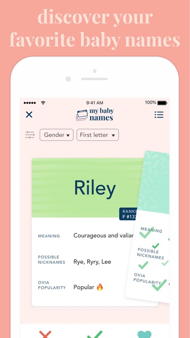Screenshot #3 pour Ovia Pregnancy Tracker