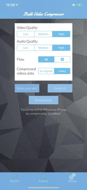 Bulk Video Compressor on the App Store