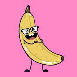 banana funny sticker app