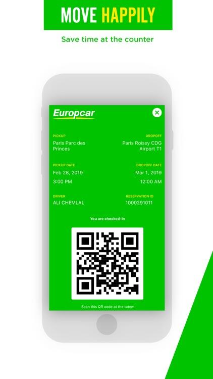 Europcar - Car & Van Hire screenshot-5