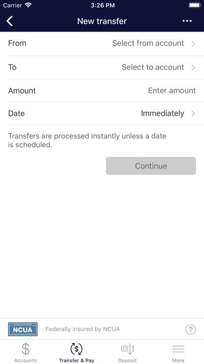 HPCU Mobile Banking screenshot-4