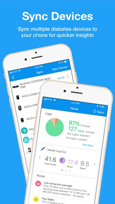 Top 10 Apps like GlucoSweet - Diabetes Logbook in 2019 for iPhone & iPad