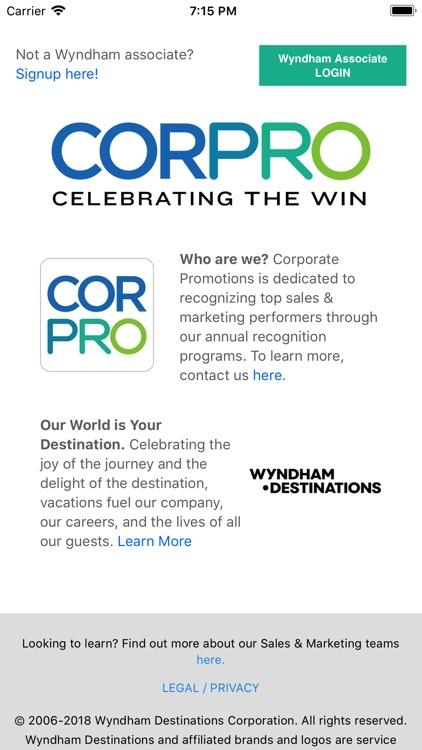 CORPRO Rewards