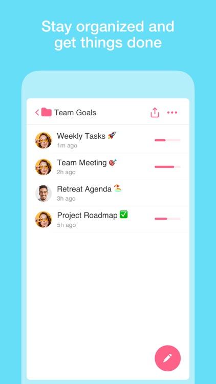 Taskade - Team Agenda & Chats.