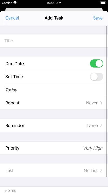 Prioritize: Organized To-Do screenshot-5