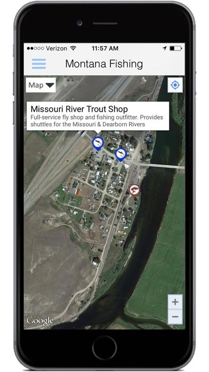 Montana Fishing Access screenshot-3