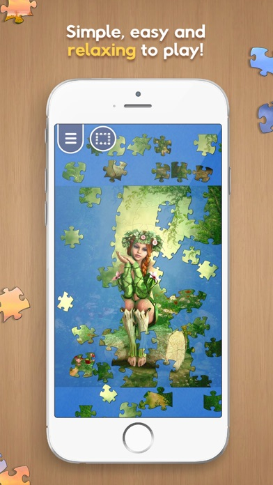 Just Jigsaws screenshot three