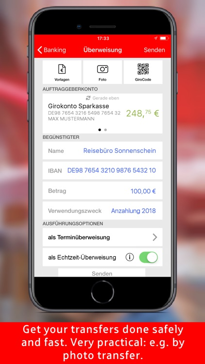 Sparkasse - Your mobile branch screenshot-5