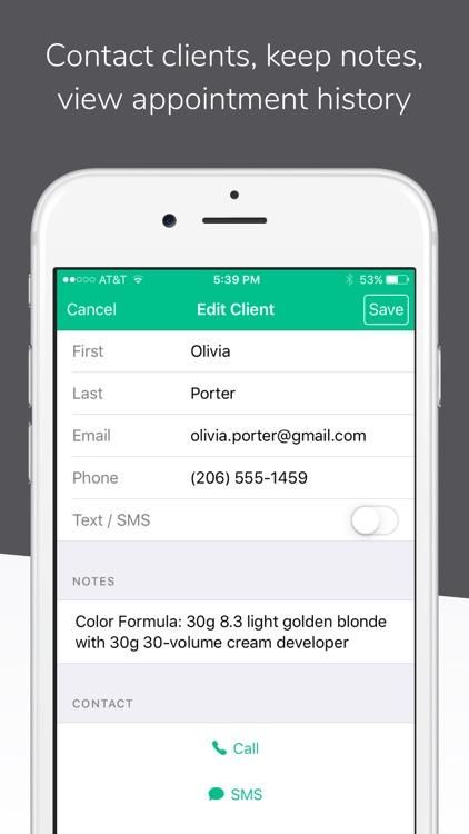 Schedulista Online Scheduling screenshot-4