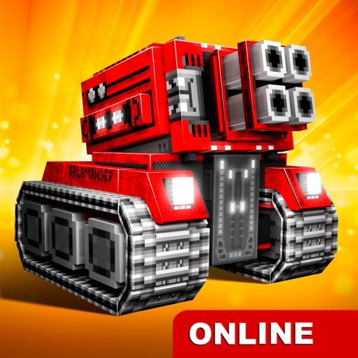 Blocky Cars:шутер,машины,танки
