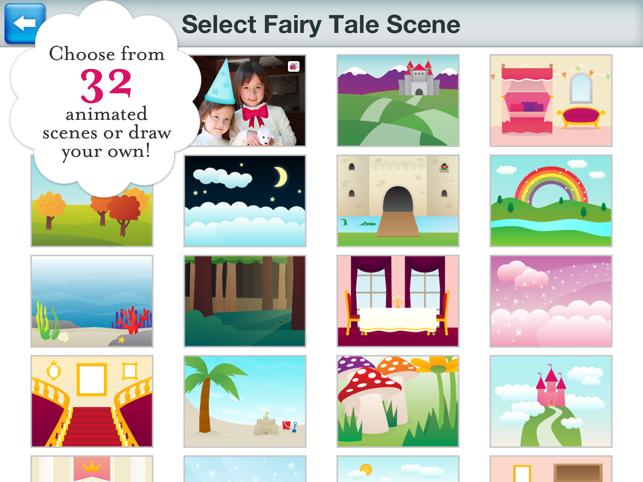 Princess Fairy Tale Maker Screenshot