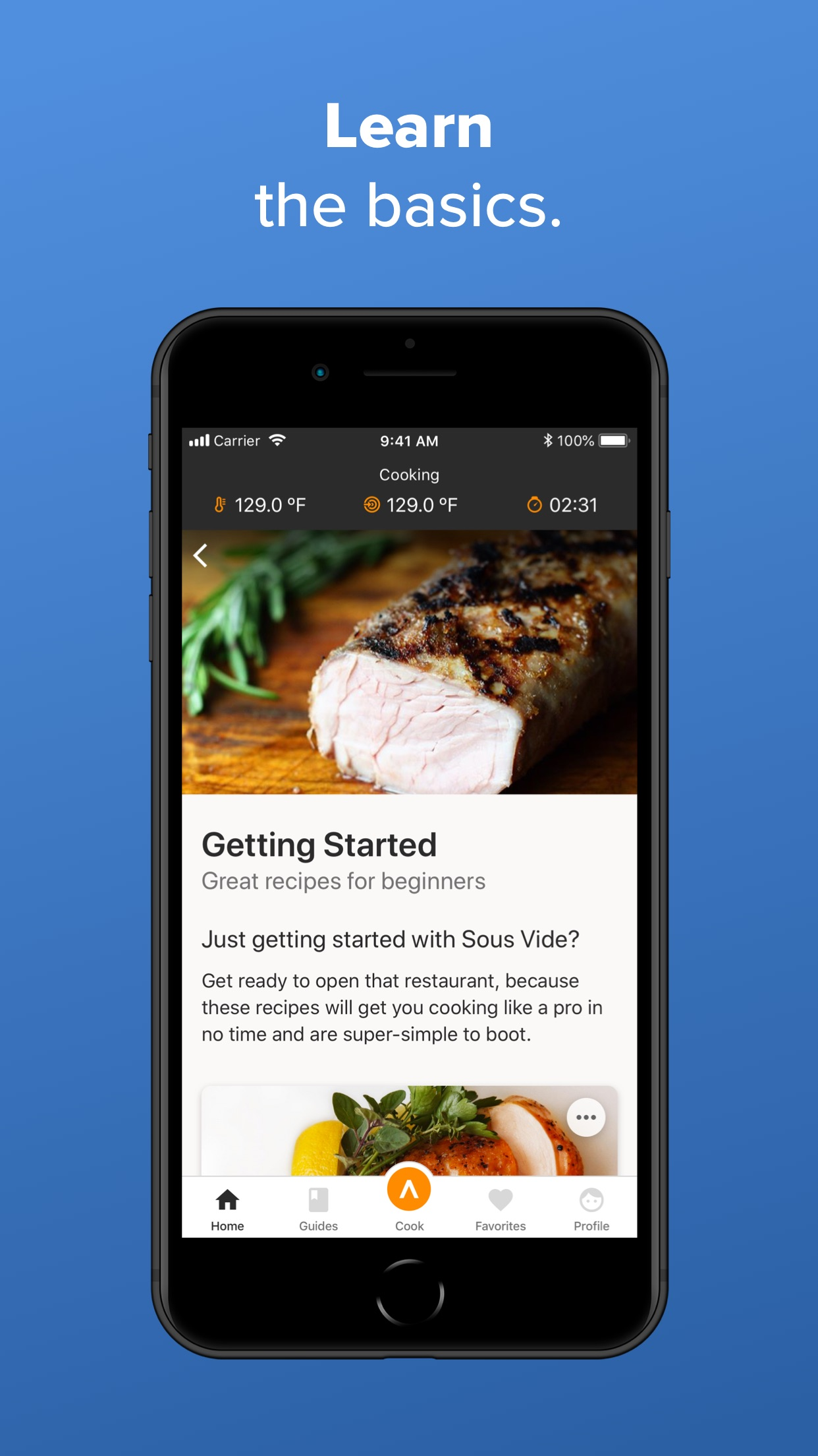 Anova Culinary Screenshot