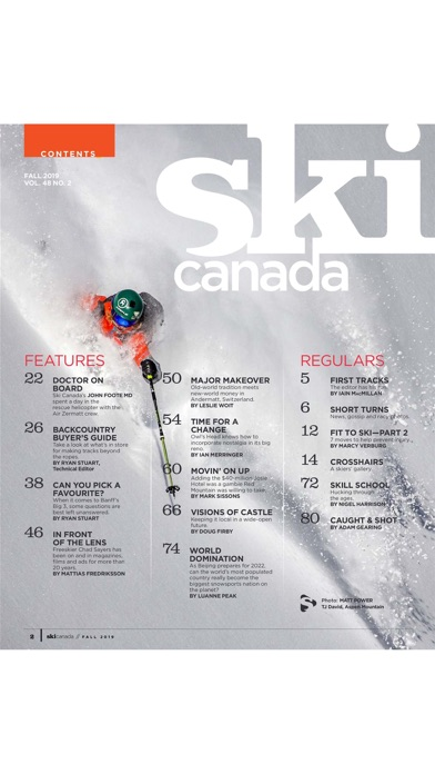 Ski Canada screenshot two