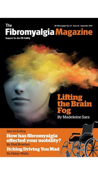 Fibromyalgia Magazine Screenshot