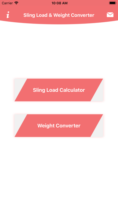 Sling load N Weight Converter screenshot 2