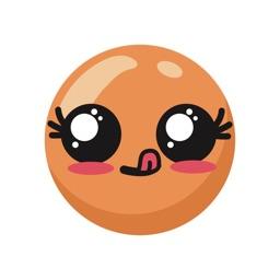 Cute Kawaii Cartoon Emojis
