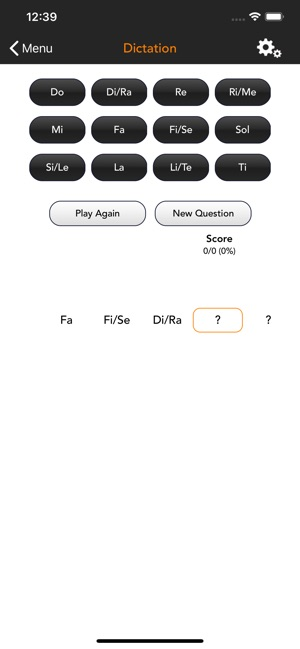 SolFi Ear Trainer 3 Screenshot