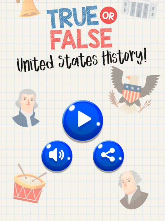 True or False: U.S. History screenshot