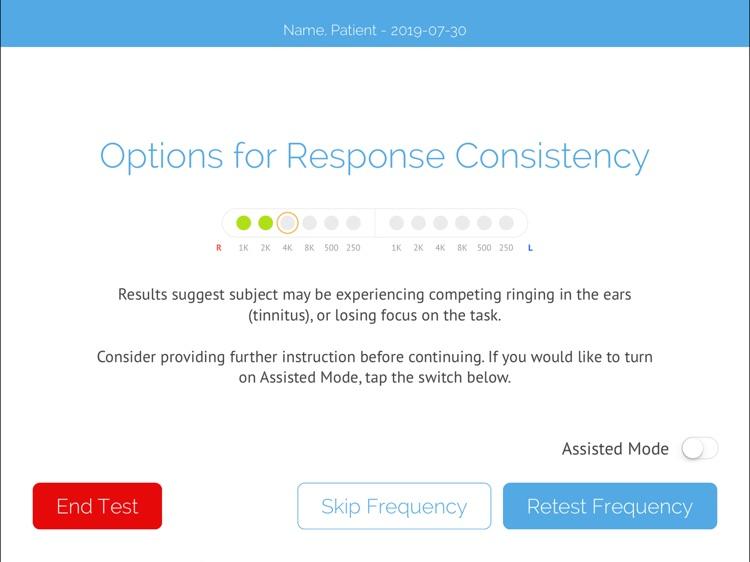 SHOEBOX Audiometry Pro screenshot-8