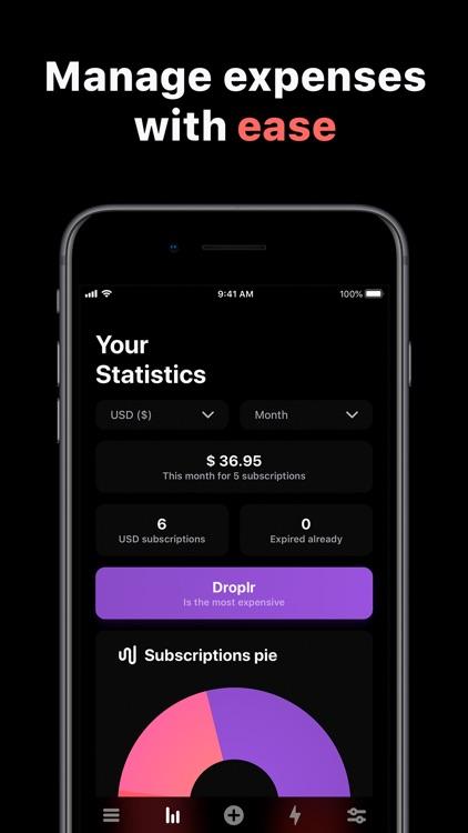 Skaffer - Track subscriptions screenshot-3