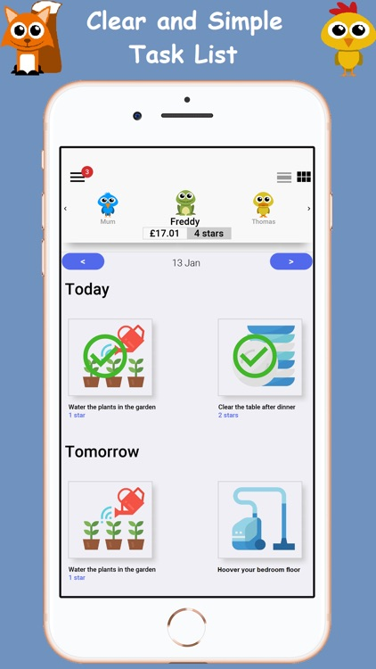 Star Chores - Task Manager