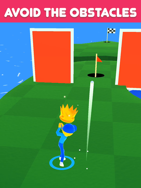Golf Race screenshot 7