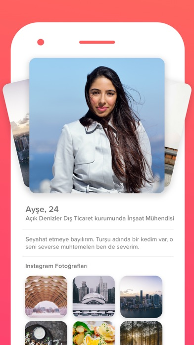 Screenshot for Tinder in Turkey App Store
