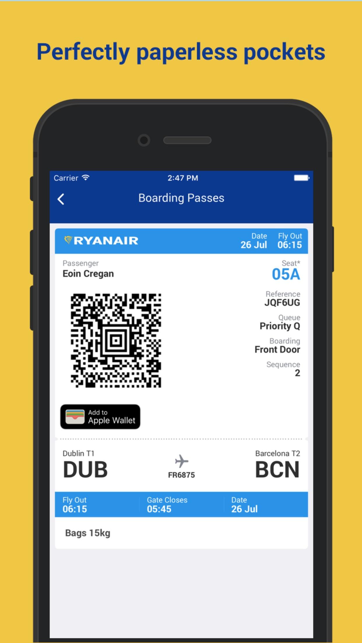 Ryanair Screenshot