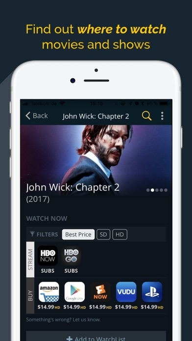 JustWatch - Movies & TV Shows - Revenue & Download estimates