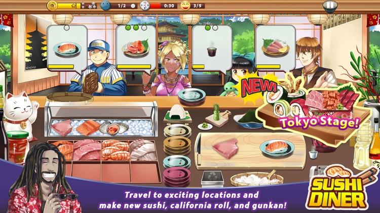 Sushi Diner – Fun Cooking Game screenshot-0